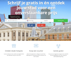 De short copy van Social Deal