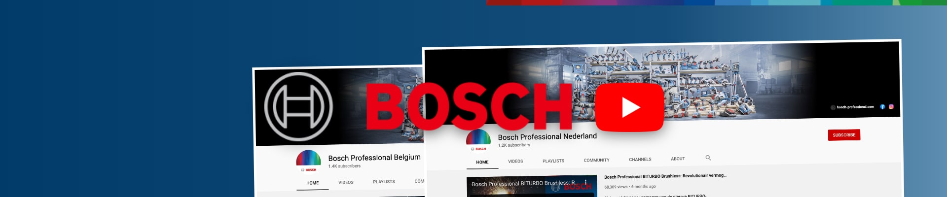 Bosch Professional Power Tools: videoproductie