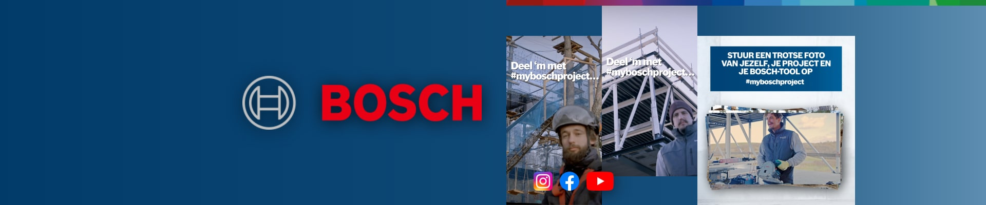 Bosch Professional Power Tools: Engagementcampagne #myboschproject